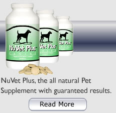 NuVet Pet Supplements